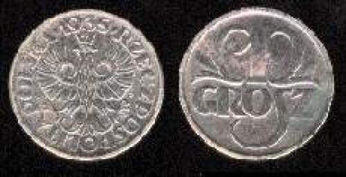 1 grosz 1923-1939 (km y#8a)