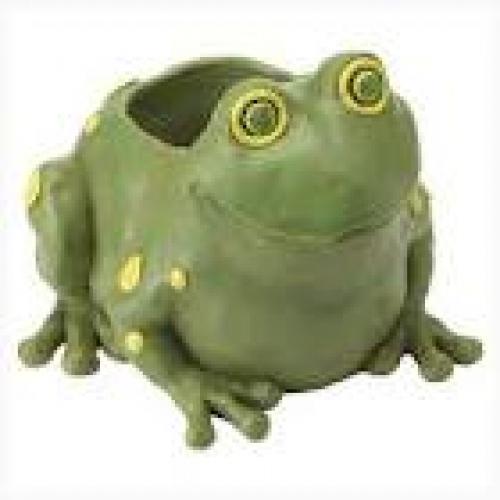 Decorative; Frog Pot; Garden Decor