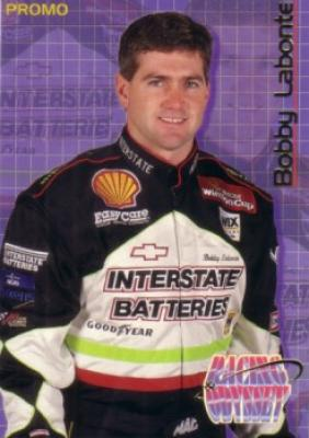 Bobby Labonte 1996 Maxx racing promo card