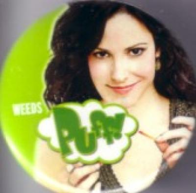 Weeds 2010 Comic-Con Showtime promo button or pin