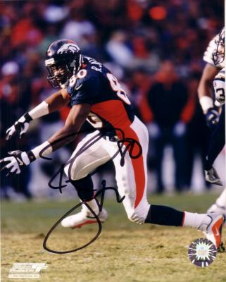 Rod Smith autographed Denver Broncos 8x10 photo