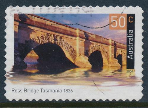 Australia 2004: 50c Ross Bridge Used (sg 2362)