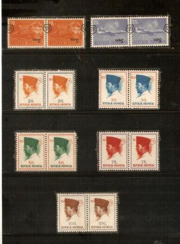 1965 Overprints upside down