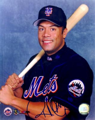 Roberto Alomar autographed New York Mets 8x10 photo