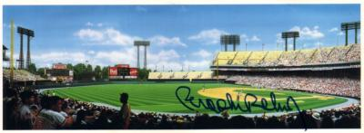 Brooks Robinson autographed Baltimore Orioles Memorial Stadium artwork card