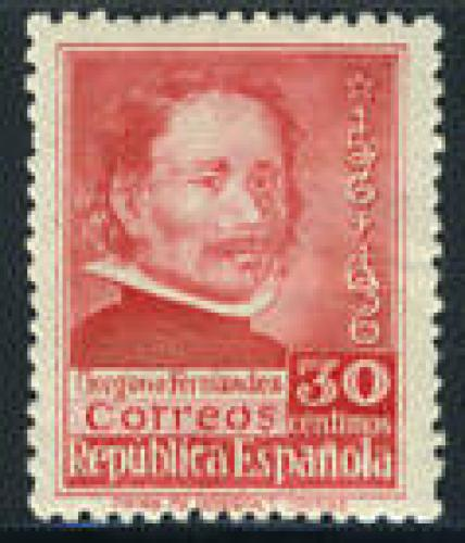 Fernandez 1v; Year Issue: 1937; 30 Centimos