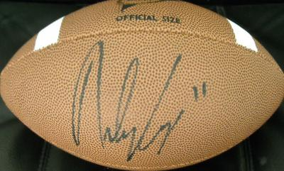 Riley Cooper (Florida) autographed Wilson NCAA football