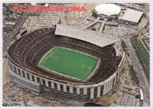 Spain Estadi F.C. Barcelona #0187 Stadium Postcard Spain - Barcelona