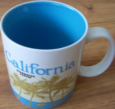 2009 Starbucks huge California collector series 16 ounce coffee mug NEW