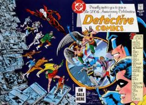 Comics; Detective Comics #500