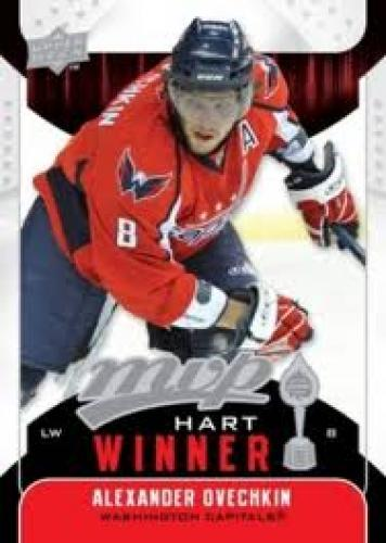 2009-10 Upper Deck MVP Hockey Card; Alexander   Ovechkin