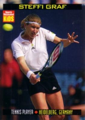 Steffi Graf 1999 Sports Illustrated for Kids card