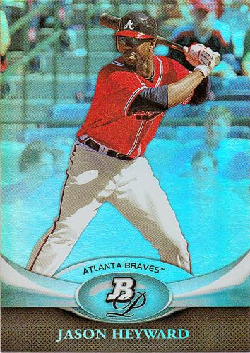 2011 Bowman Platinum #32 ~ Jason Heyward