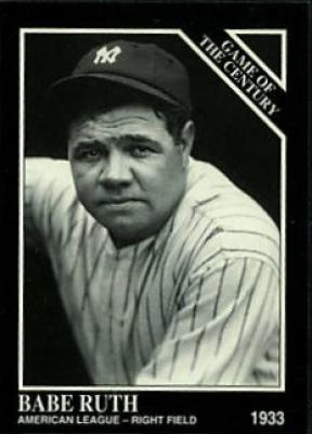 Babe Ruth 1992 Conlon National Convention promo card
