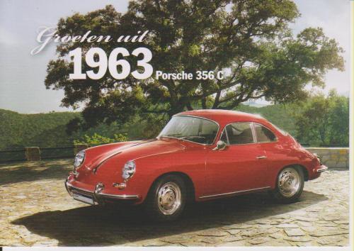 Porsche 356 C 1963 postcard