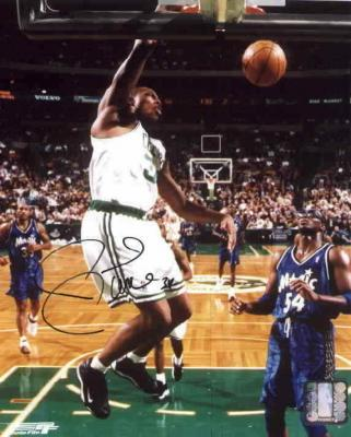 Paul Pierce autographed Boston Celtics 8x10 photo