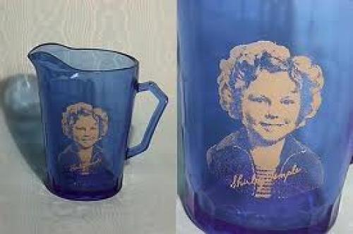 Memorabilia; Shirley Temple creamers
