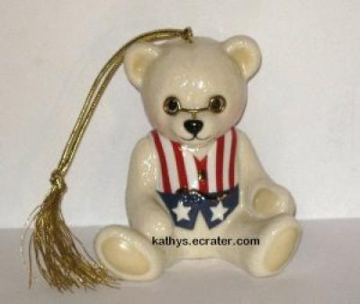 Ornament: Lenox China Teddy&#039;s 100th Anniversary Bear Ornament