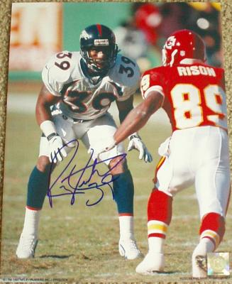 Ray Crockett autographed 11x14 Denver Broncos photo