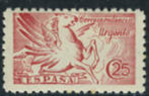 Express mail 1v; Year Issue: 1939; Spain Stamps