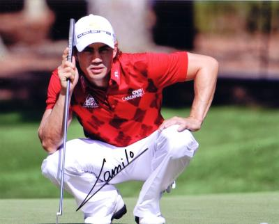 Camilo Villegas autographed 8x10 photo
