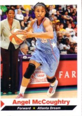 Angel McCoughtry WNBA Atlanta Dream 2011 Sports Illustrated for Kids Rookie Card