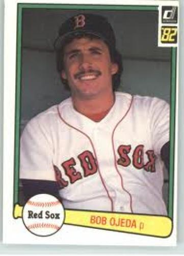 Baseball Card; 1982 Donruss #540 Bob Ojeda RC - Boston Red
