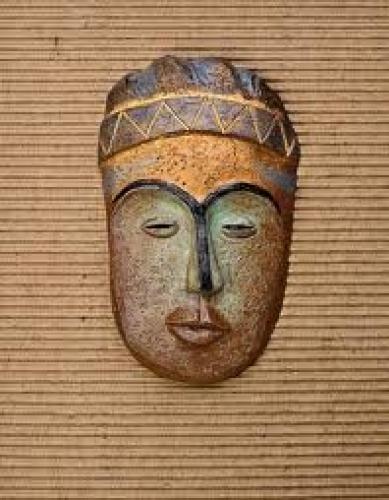 Antique Ethnic;  tribal mask