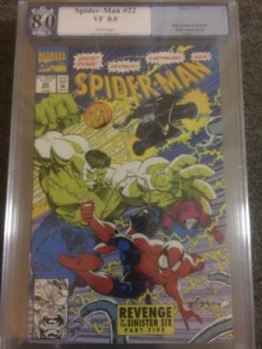 Spider-Man #22  *PGX 8.0