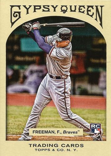 2011 Topps Gypsy Queen #335 ~ Freddie Freeman RC SP