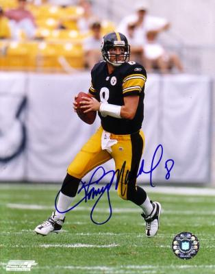 Tommy Maddox autographed 8x10 Pittsburgh Steelers photo