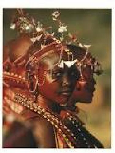 Maasai African Girl Postcard. In celebration of their impending graduation
