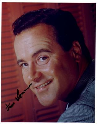 Jack Lemmon autographed 8x10 photo