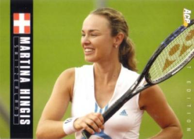Martina Hingis 2005 Ace Authentic card