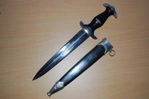 Original German Waffen SS Dagger, RZM 120/34SS