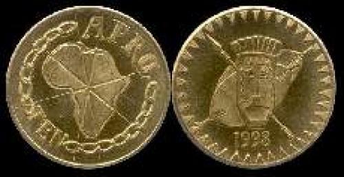 10 afros 1998 (km x#3); Shields, assagal and mask