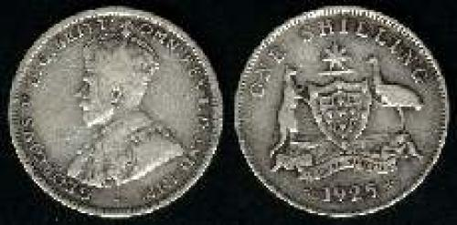 1 shilling; Year: 1911-1936; (km 26)