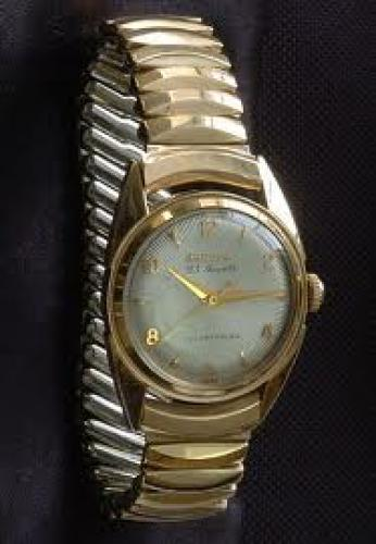 Watches; Bulova 23 jewels self-winding 1950 vintage