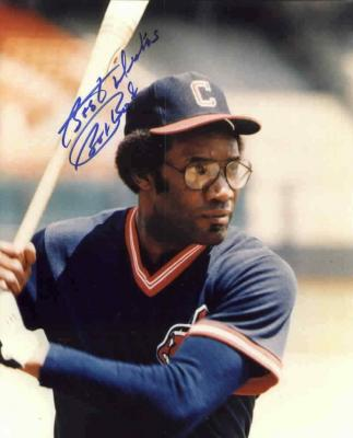 Bobby Bonds autographed 8x10 Cleveland Indians photo