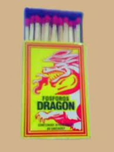 Matchboxes; Posporo Dragon design