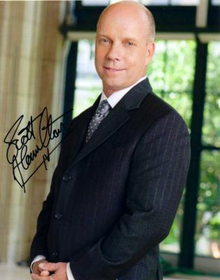 Scott Hamilton autographed 8x10 portrait photo