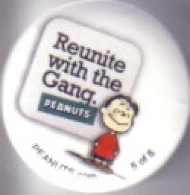 Linus Peanuts 2011 Comic-Con SDCC promo button pin #5/5