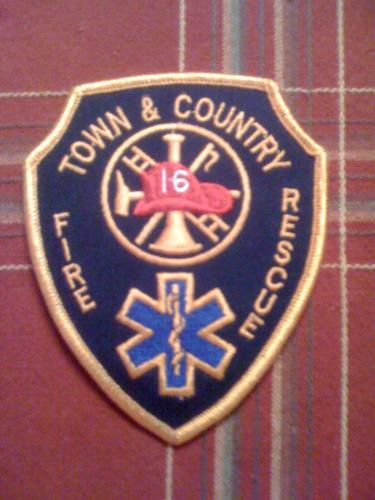 Town and Country Fire Rescue patch