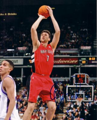 Andrea Bargnani autographed Toronto Raptors 8x10 photo