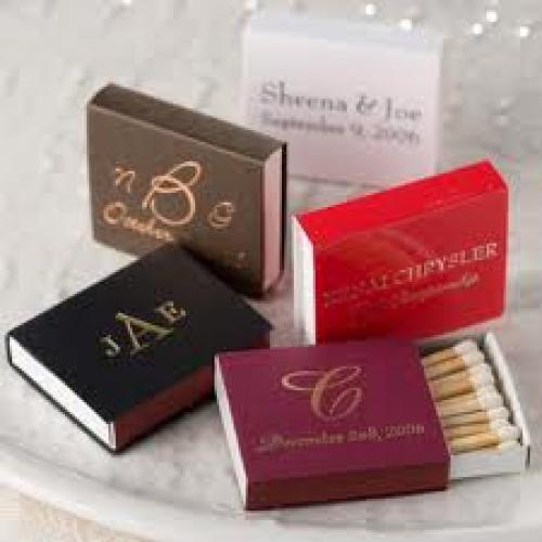 Matchboxes; Personalized