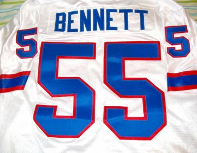 Cornelius Bennett autographed Buffalo Bills authentic jersey