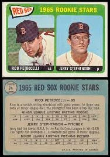 Baseball Card; The 1965 OPC Baseball Cards