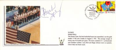 Chuck Daly autographed 1992 USA Dream Team cachet envelope