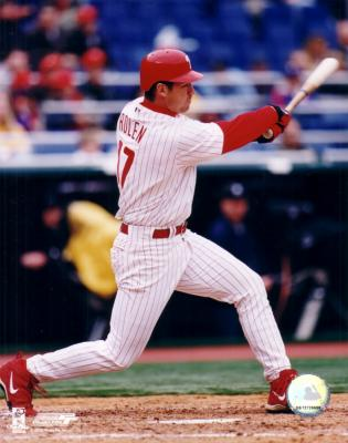 Scott Rolen 8x10 Philadelphia Phillies photo