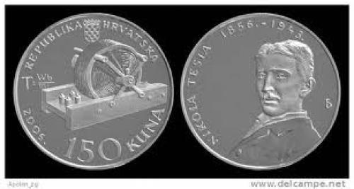 Coins;  CROATIA: 150 Kuna 2006 PROOF SILVER COIN